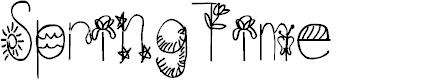 Preview image for SpringTime Font