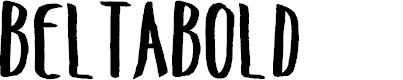 Preview image for BeltaBold Font