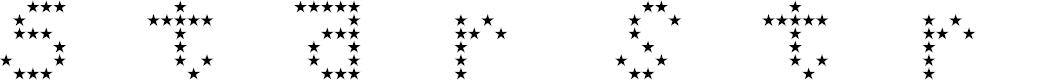 Preview image for Starstruck Regular Font