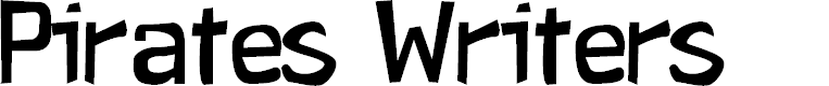 Preview image for Pirates Writers Font