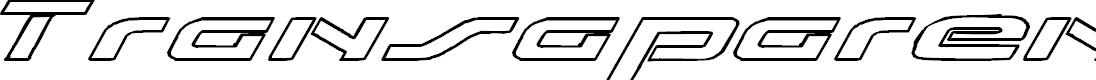 Preview image for Transaparent Font
