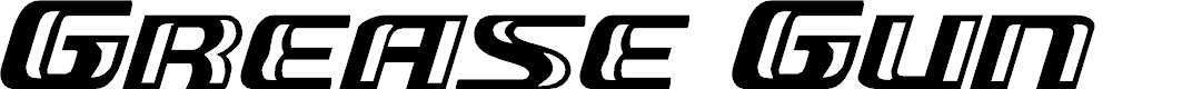Preview image for Grease Gun Expanded Italic