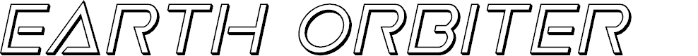 Preview image for Earth Orbiter 3D Italic