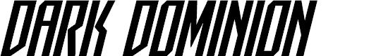 Preview image for Dark Dominion Italic
