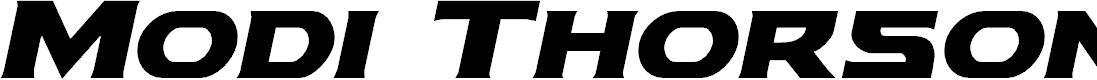 Preview image for Modi Thorson Italic