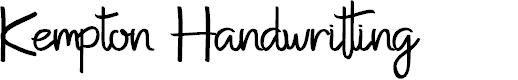 Kempton Serif by Edric Studio