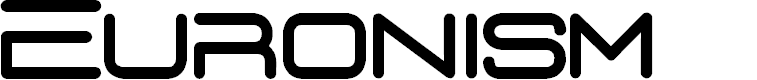 Preview image for D3 Euronism Font