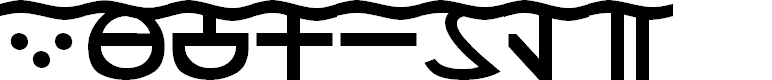 Preview image for DS_Aqua 1 Font