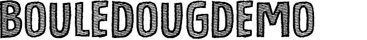 Preview image for BouledougDEMO Font