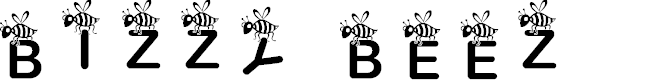 Preview image for JLR Bizzy Beez Font