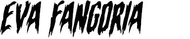 Preview image for Eva Fangoria Warped Italic