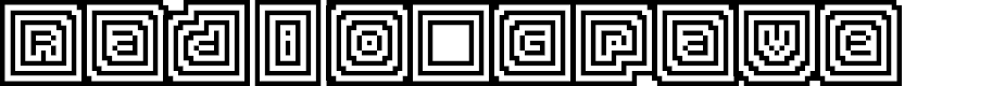 Preview image for Radio Grave Regular Font