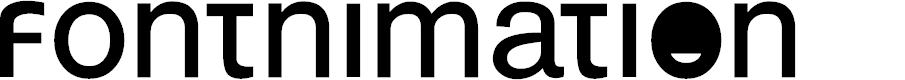 Preview image for FONTnimation Font