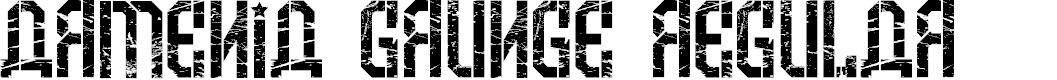 Preview image for Armenia Grunge Regular