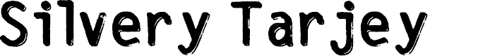 Preview image for SilveryTarjey Font