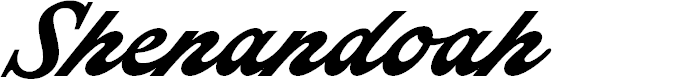 Preview image for Shenandoah Personal Use Only Font