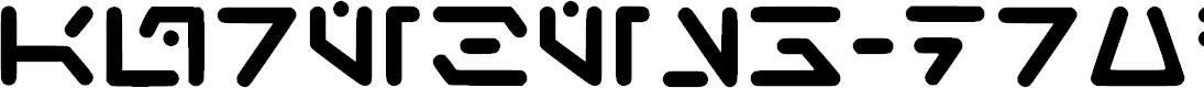 Preview image for Aurebesh_droid Regular Font