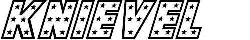 Preview image for Knievel Italic