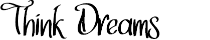 Preview image for Think Dreams Font