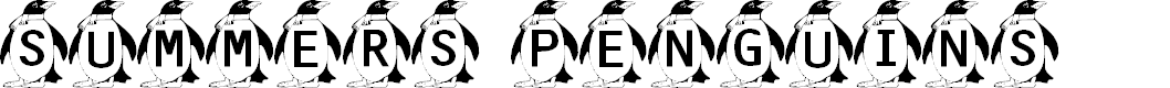 Preview image for Summer's Penguins Font