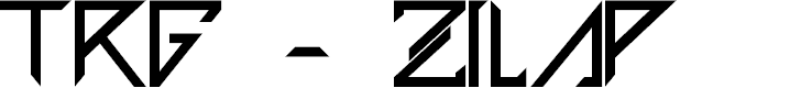 Preview image for TRG - Zilap Font