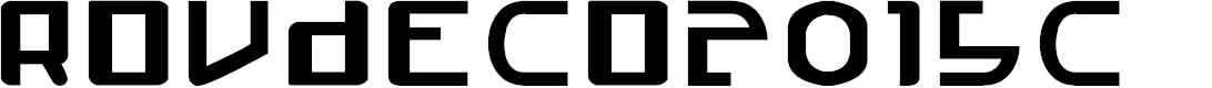 Preview image for Roudeco2015c Font