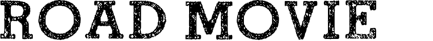 Preview image for ROAD MOVIE Font