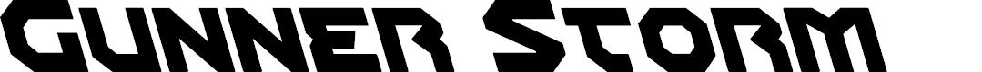Preview image for Gunner Storm Leftalic Italic
