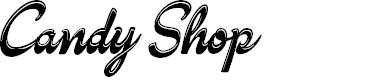 Preview image for Candy Shop Personal Use Font