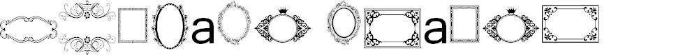 Preview image for Vintage Frames 2 Font