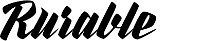 Preview image for Rurable Personal Use Only Font