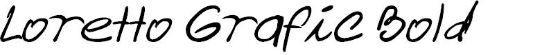 Preview image for Loretto Grafic Bold Font