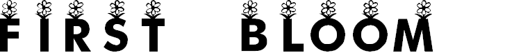 Preview image for KR First Bloom Font