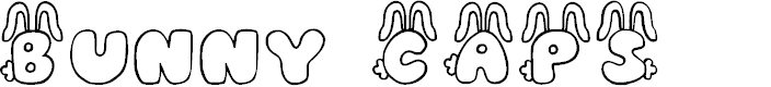 Preview image for JI Bunny Caps Font