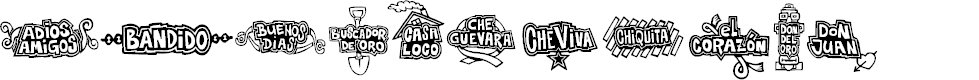 Preview image for Che Viva Banana  Font