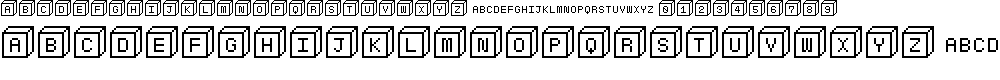 Preview image for Baby blocks Font