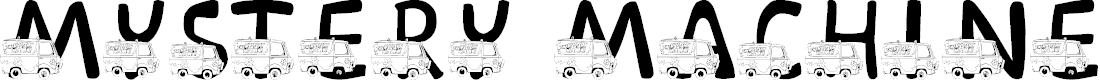 Preview image for LMS Mystery Machine Font