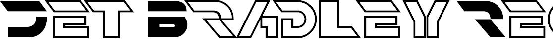 Preview image for Jet Bradley Regular Font