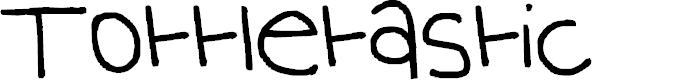 Preview image for Tottletastic Font