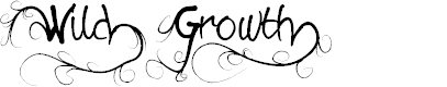 Preview image for Wild Growth Font
