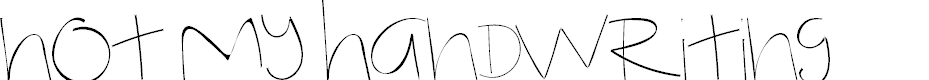 Preview image for Untitled 2 Font