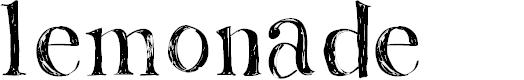 Preview image for Lemonade Font