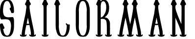 Preview image for SAILORMAN Font