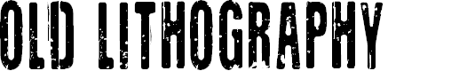 Preview image for CF Old Lithography Regular Font