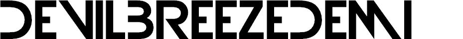 Preview image for DevilBreezeDemi Font