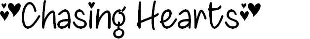 Preview image for ChasingHearts-Regular Font
