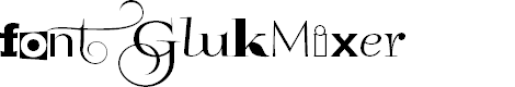 Preview image for GlukMixer Font