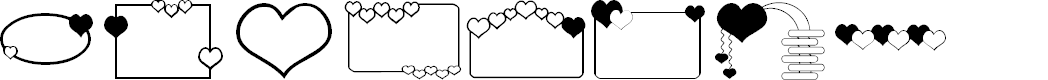 Preview image for ap_hearts Font