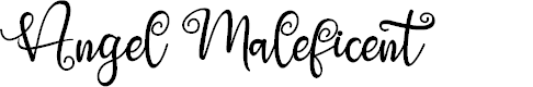 Preview image for Angel Maleficent Font