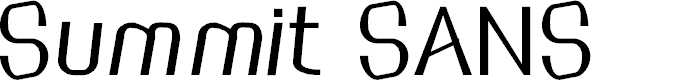 Preview image for SummitSans Font